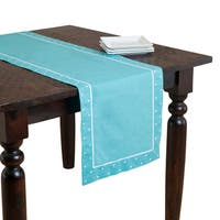 Swiss Dot Border Table Topper or Runner