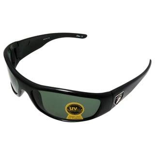 Men's 'Trojan Sports' Black Sport Wrap Sunglasses