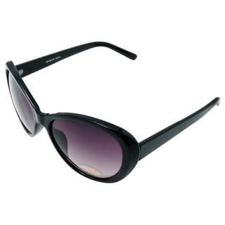 Women's 'Lust Cushion' Black Cat-eye Sunglasses