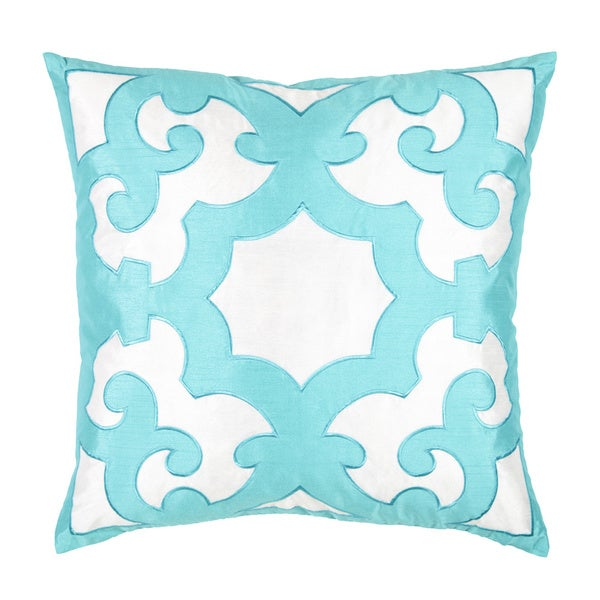 bukara twotone embroidered 24inch throw pillow free shipping today