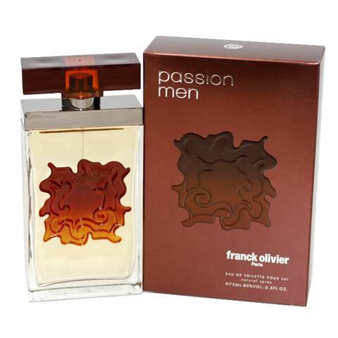 Franck Olivier Passion Men's 2.5-ounce Eau de Toilette Spray