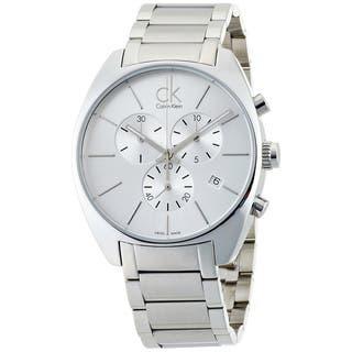 Calvin Klein Men's Exchange K2F27126 Silver Stainless-Steel Swiss Quartz Watch|https://ak1.ostkcdn.com/images/products/8237706/8237706/Calvin-Klein-Mens-Exchange-K2F27126-Silver-Stainless-Steel-Swiss-Quartz-Watch-with-Silver-Dial-P15565968.jpg?impolicy=medium