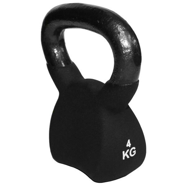 Neoprene Kettlebell 4kg (8.8 pounds)