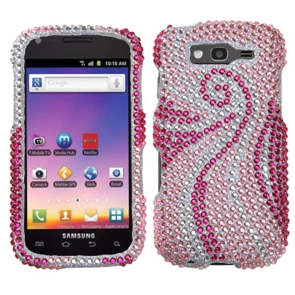 INSTEN Phoenix Tail/ Diamante Phone Case Cover for Samsung T769 Galaxy S Blaze 4G