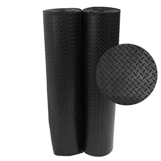 Link to Rubber-Cal Black Diamond-Plate Rubber Floor Mats Similar Items in Grills & Outdoor Cooking