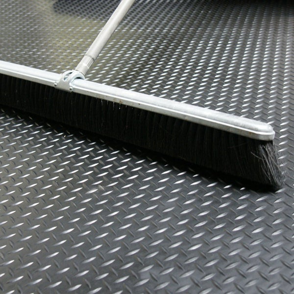 Rubber Cal Diamond Plate Rubber Floor Mats   1/8 X 48 Inch Rubber Runner  Black 8 Available Lengths   Free Shipping Today   Overstock.com   15566198