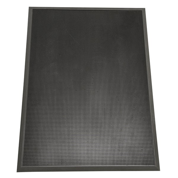 Rubber Cal Quot Door Scraper Quot Commercial Entry Mat 5 8 X 24