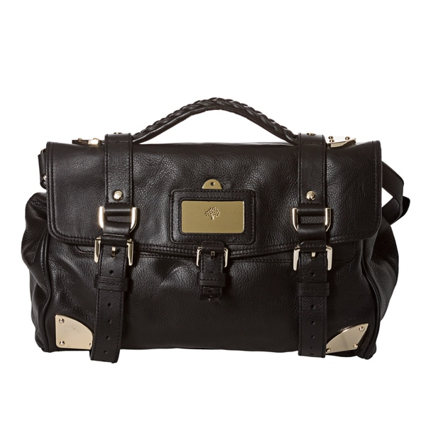 Mulberry Black Leather Day Satchel