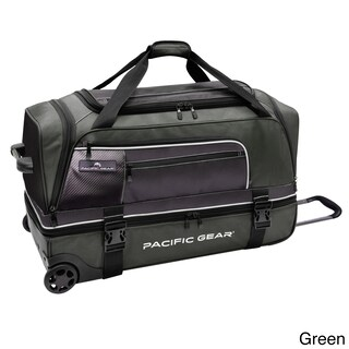 Pacific Gear by Traveler's Choice Drop Zone 30-inch Drop-bottom Rolling Upright Duffel Bag (2 options available)