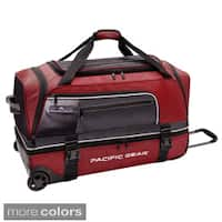 Pacific Gear by Traveler's Choice Drop Zone 30-inch Drop-bottom Rolling Upright Duffel Bag