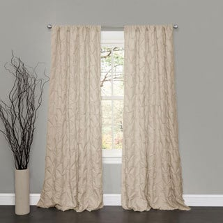 Lush Decor Lake Como Taupe 84-inch Curtain Panel