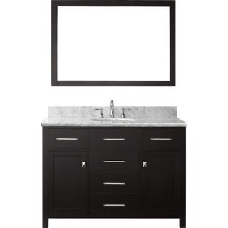 Virtu USA Caroline 48-inch Single-sink Bathroom Vanity Set