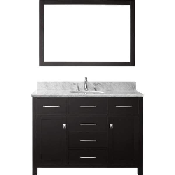 Virtu usa caroline 48 inch single sink bathroom vanity set Virtu usa caroline 36 inch single sink bathroom vanity set