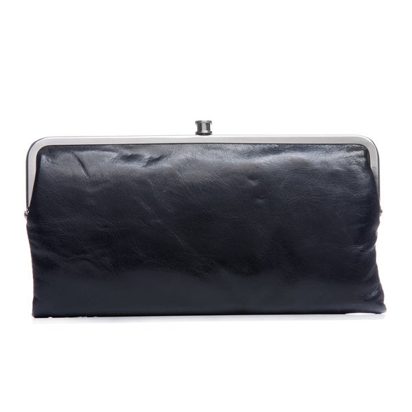 Hobo International Lauren Vintage Black Leather Wallet