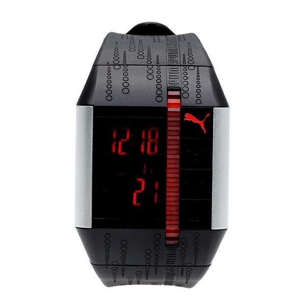 Puma Active PU910501001 Black Polyurethane Quartz Watch with Digital Dial