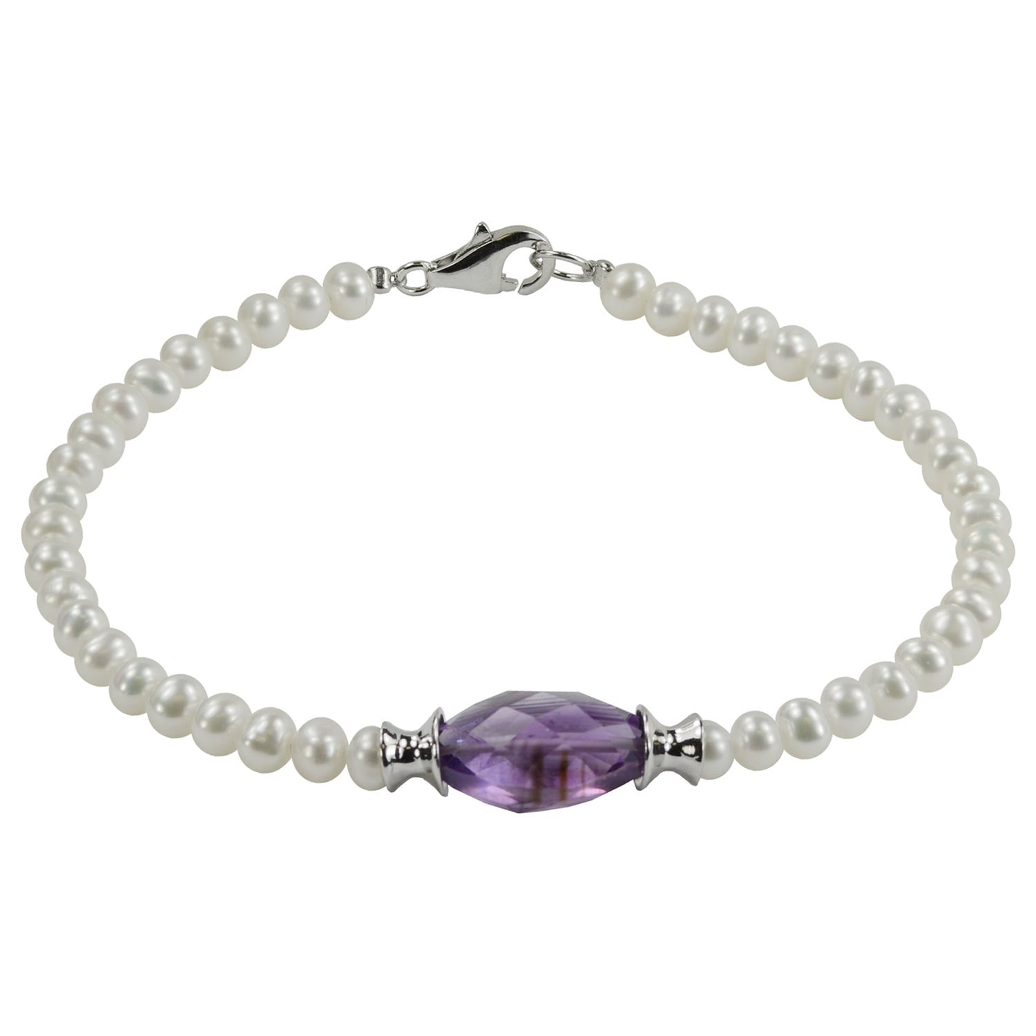 925 Sterling Silver 8mm Purple Freshwater Cultured Pearl Chain Necklace Pendant Charm Fine Jewelry For Women Gift Set