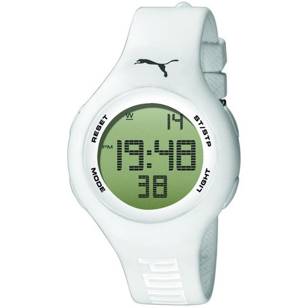 Puma Men's 'Active' White Digital Watch