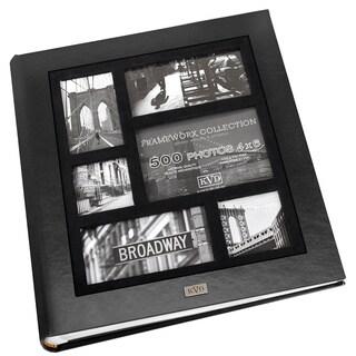 Kleer Vu Frame Collage Leatherette Bookbound 500-photo Memo Page 4 x 6 Album