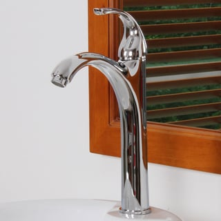 Elite 8822C Chrome Single Lever Tall Vessel Sink Faucet