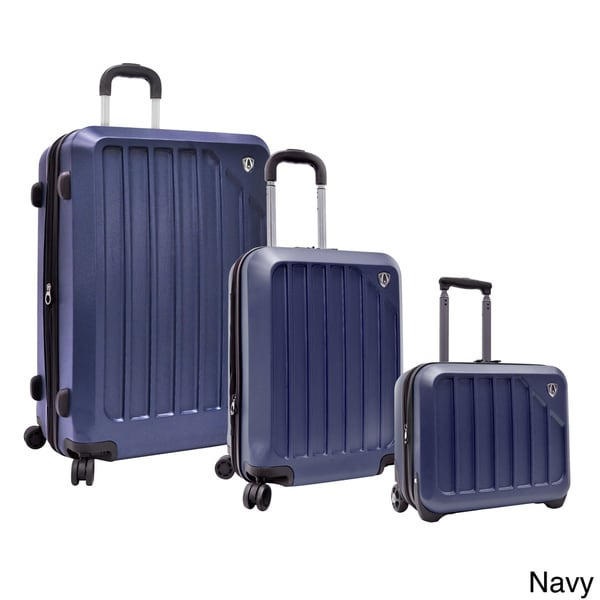 Traveler's Choice Glacier 3-piece Hardside Spinner Luggage Set