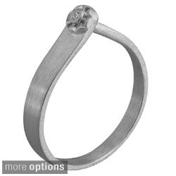 NEXTE Jewelry Sterling Silver Diamond Accent Ring