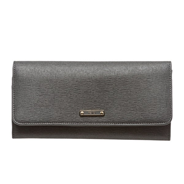 ... bag 1267a bcee0 coupon for fendi x27elitex27 grey vitello leather  continental wallet 5b104 49ca0 ... 677fef30f1047