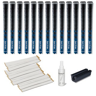 Golf Pride New Decade MCC Blue - 13pc Grip Kit (with tape, solvent, vise clamp)