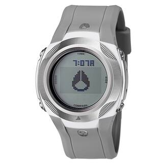 Nixon Men's 'The Delta' Gray Stainless Steel and Nylon Compass Watch|https://ak1.ostkcdn.com/images/products/8239005/8239005/Nixon-Mens-The-Delta-Stainless-Steel-and-Nylon-Compass-Watch-P15567279.jpg?impolicy=medium