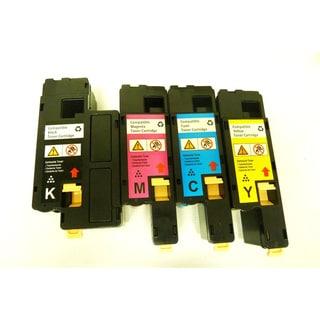 Compatible Dell C1660 Color Set Toner Cartridge