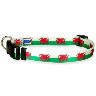 Welsh Flag Dog Collar