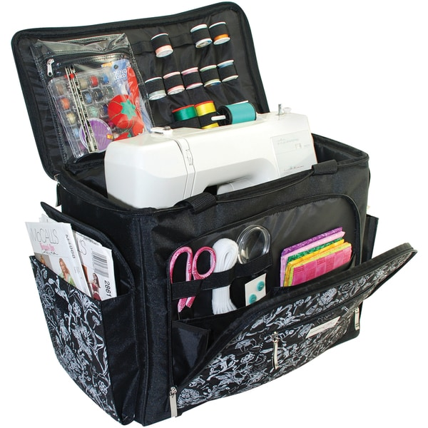 everything sewing machine tote