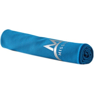 Mission Athletecare Enduracool Instant Cooling Mesh Towel Blue (X-Large)