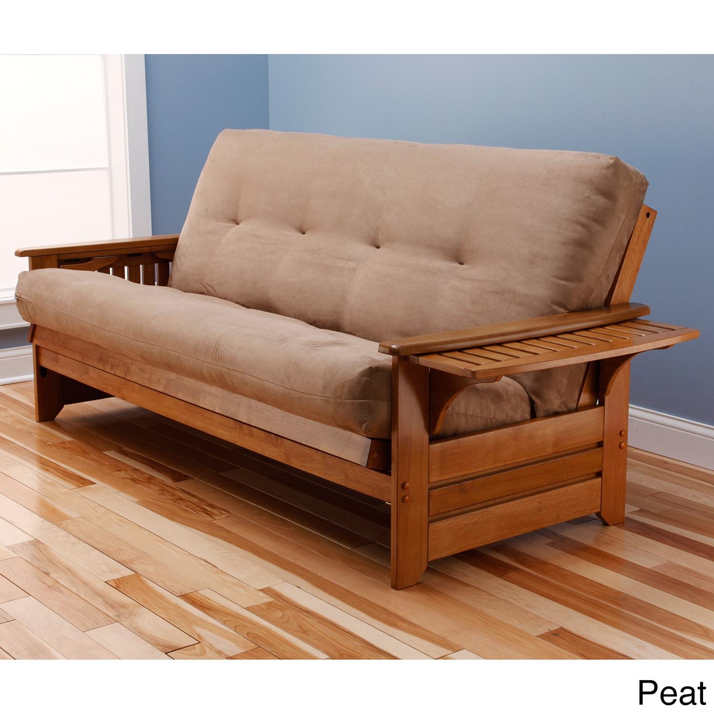 Somette Ali Phonics Multi-flex Honey Oak Full-size Wood F...