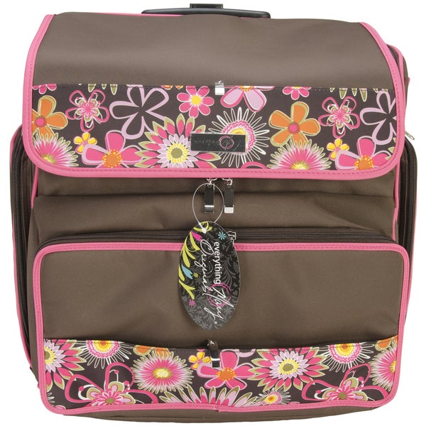 Shop Everything Mary Rolling Scrapbook Tote - Free Shipping Today ... 897842d1a3