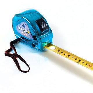 Stalo Metallic SAE and Metric tape measure with LED Light 25 Foot