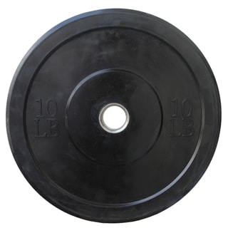 Valor Athletics BP-10 10 lb. Olympic Bumper Plates (Set of 4)