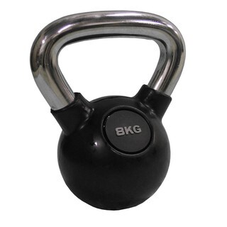 Chrome Kettle Bell 8kg (17.6 lb)