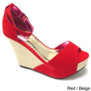 01f0800b3997 Buy Beige Women s Wedges Online at Overstock