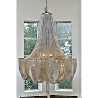 Maxim Lighting Chantilly Nickel/Silver Metal 10-light Hanging Chandelier
