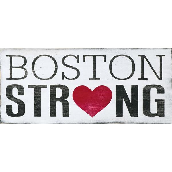 Holly Stadler 'Boston Strong'  Paper Print (Unframed)