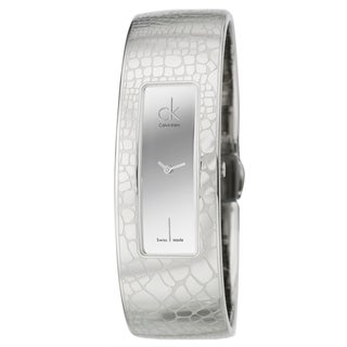 Calvin Klein Women's 'Instinctive' Stainless Steel Swiss Quartz Water-resistant Watch