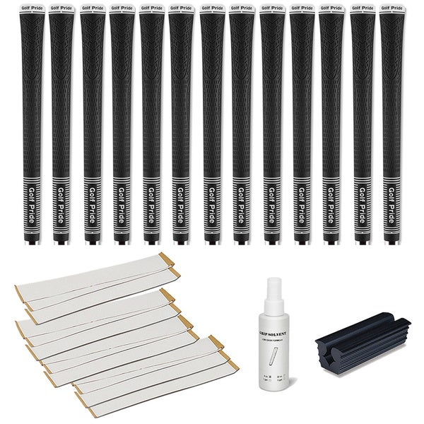 Golf Pride Tour 25 - 13pc Grip Kit (with tape, solvent, vise clamp)