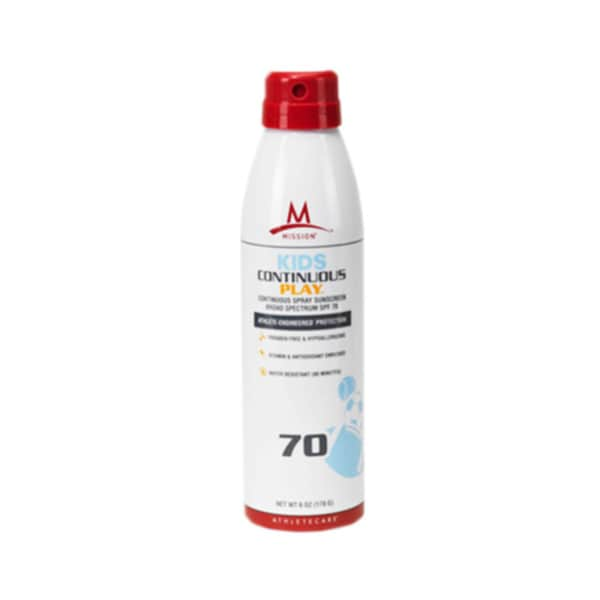 Mission Athletecare Kids Continuous Play Sun Spray SPF 70