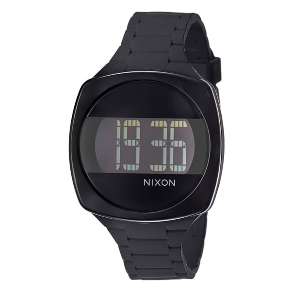 0d88acc9c Shop Nixon Men's 'The Dash' Polycarbonate Digital Watch - Free Shipping  Today - Overstock - 8239514