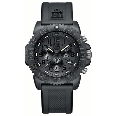Luminox Men's Navy Seal Chronograph Watch - Black