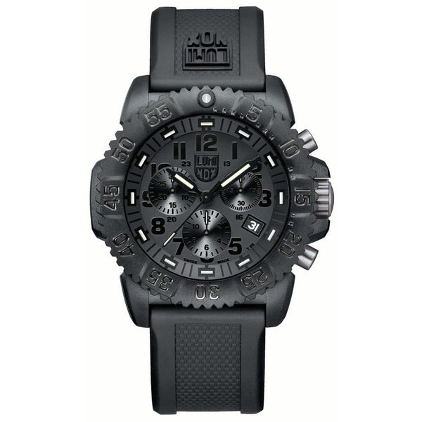 Luminox Men's Navy Seal Chronograph Watch - Black