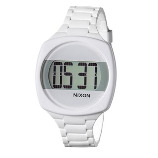 Nixon Women's 'The Dash' White Digital Watch