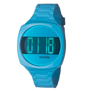 Nixon Women's 'The Dash' Blue Digital Watch
