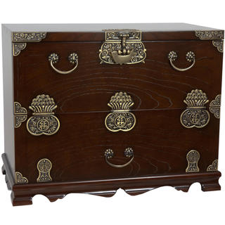 Handmade Korean Bandaji Antique Design Blanket Chest (Korea)