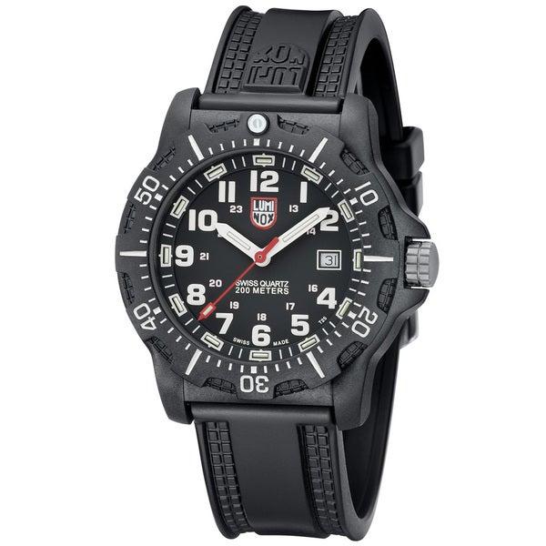 Luminox Men's 'Black OPS Carbon' Black Dial Watch